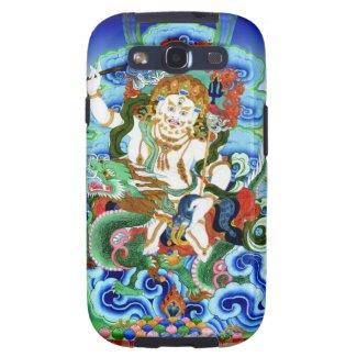 Cool oriental tibetan thangka White Jambhala Galaxy S3 Cover