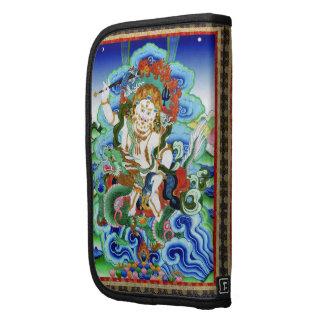 Cool oriental tibetan thangka White Jambhala Planners