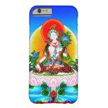 Cool oriental tibetan thangka White Tara tattoo Barely There iPhone 6 Case