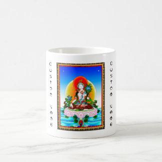 Cool oriental tibetan thangka White Tara tattoo Coffee Mug