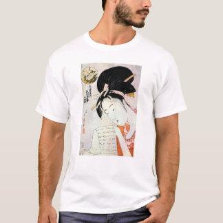 Cool Oriental Traditional Japanese Geisha art T-Shirt