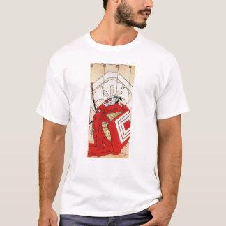 Cool Oriental Traditional Japanese Red Samurai T-Shirt