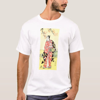 Cool Oriental Traditional Japanese Samurai art T-Shirt