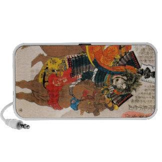 Cool oriental traditional japanese warrior samurai travel speakers