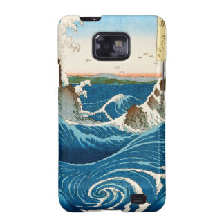 Cool oriental traditional japanese waterscape sea samsung galaxy s2 case
