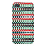 Cool oriental tribal abstract native pern iPhone 4/4S case