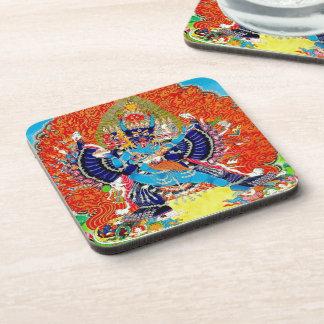 Cool oriental Vajrabhaivara Yamantaka death god Coaster