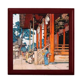 Cool oriental Yashaka Shrine Yoshida watercolor Gift Box