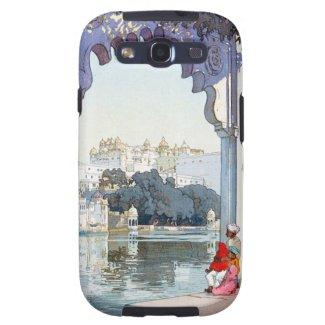 Cool oriental Yoshida Hiroshi udaipur Palace art Galaxy SIII Case