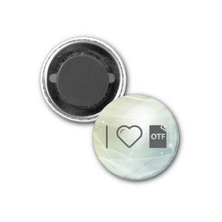 Cool Otf 1 Inch Round Magnet