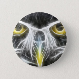 Cool Owl Design Pinback Button