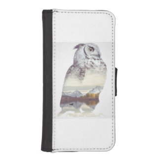 cool owl designs on iPhone wallets