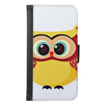 Cool Owl Wallet Phone Case For Samsung Galaxy S6