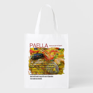 Cool Paella Reusable Bag! Market Totes
