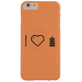 Cool Pagoda Barely There iPhone 6 Plus Case