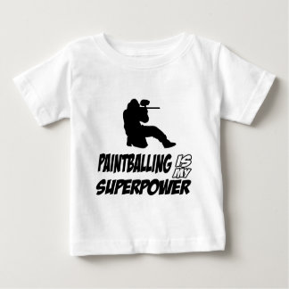 Cool Paintball designs Baby T-Shirt