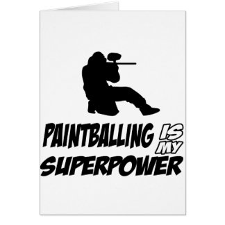 Cool Paintball designs Card