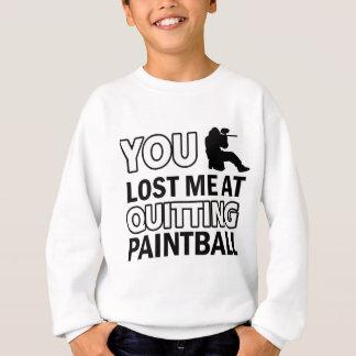 Cool Paintball designs Sweatshirt
