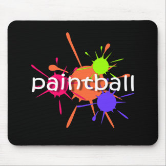 Cool paintball mouse pad