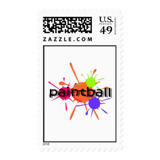 Cool paintball postage