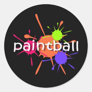 Cool paintball sticker