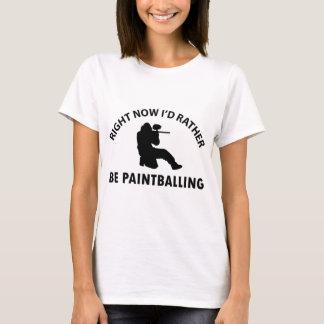 Cool paintballing designs T-Shirt
