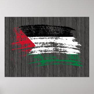 Cool Palestinian flag design Poster