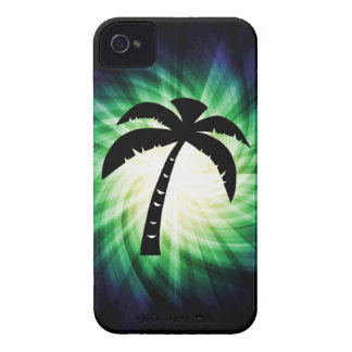 Cool Palm Tree Silhouette iPhone 4 Case
