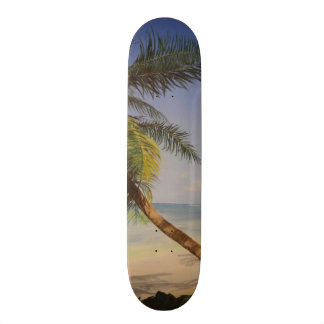 Cool Palm Tree Skate Board