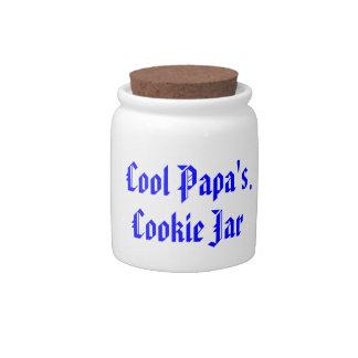 Cool Papa's Cookie Jar Candy Jars