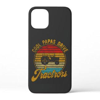 Cool Papas Drive Tractors Vintage Retro 1970s iPhone 12 Mini Case
