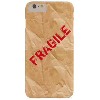 Cool paper wrapped phone. FRAGILE ready to ship Barely There iPhone 6 Plus Case