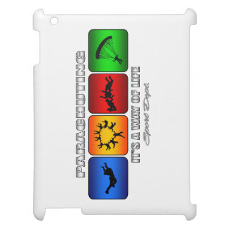 Cool Parachuting It Is A Way Of Life Case For The iPad