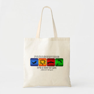 Cool Parachuting It Is A Way Of Life Tote Bag