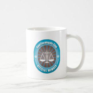Cool Paralegals Club Classic White Coffee Mug