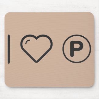 Cool Parking Valets Mouse Pad