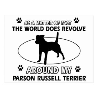 cool PARSON RUSSELL TERRIER designs Postcard