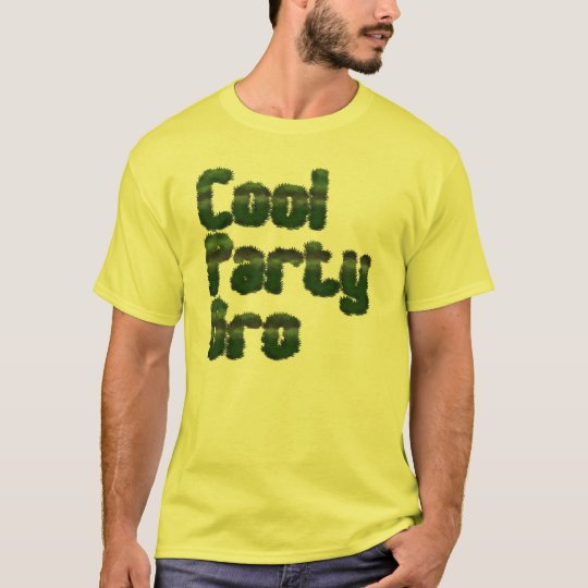 Cool Party Bro T-Shirt