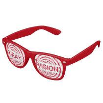 Cool party fun x-ray vision… retro sunglasses