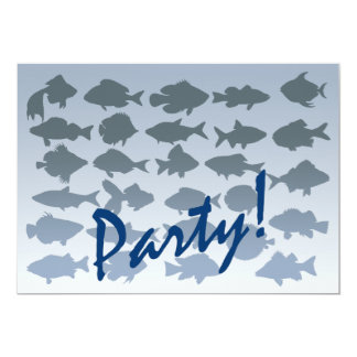Cool Party 5x7 Paper Invitation Card