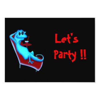 """Cool Party Invitation 5"""" X 7"""" Invitation Card"""