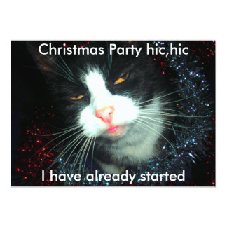 cool party man hic, Christmas Party hic,hic, I ... Card
