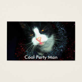 cool party man hic, Cool Party Man Business Card