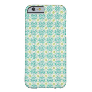 Cool Pastel Blue Retro Circle Pattern Easter iPhone 6 Case
