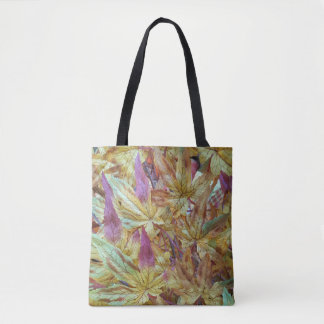 Cool Pastel Shades of Spring and Fall Tote Bag