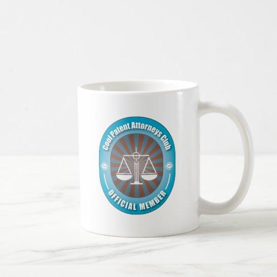 Cool Patent Attorneys Club Coffee Mug
