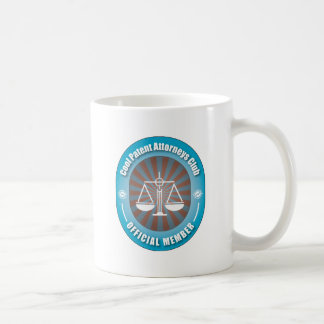 Cool Patent Attorneys Club Classic White Coffee Mug
