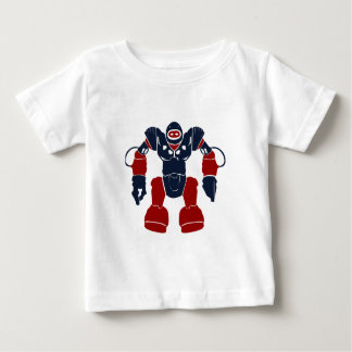 Cool Patriotic Red White Blue Robot Soldier Shirts