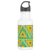 cool pattern base water bottle