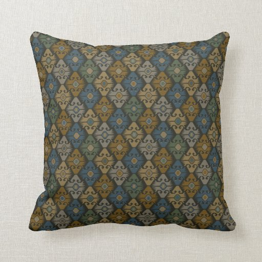 Cool pattern throw pillows zazzle for Cool couch pillows